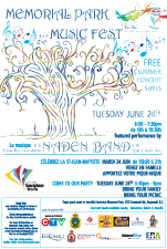 MEMORIAL PARK MUSIC FEST: Naden Band of the Royal Canadian Navy @ MEMORIAL PARK 1212 ESQUIMALT RD ESQUIMALT Jun 24 2014 - Jan 21st @ MEMORIAL PARK 1212 ESQUIMALT RD ESQUIMALT