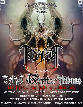 The Return of Reaver: Reaver, Scimitar, Torrefy, Tribune @ Vertigo Sep 13 2014 - Oct 27th @ Vertigo