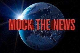 Mock the News!: Drew Farrance, Shiraz Higgins, Jake Gyllenskog, Mark Robertson, Koltre D @ Heckler's Bar & Grill Jul 28 2014 - Oct 17th @ Heckler's Bar & Grill