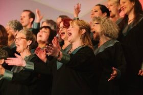 1st Annual Victoria Gospel Music Festival: Universal Gospel Choir, Aaron Scoones and the Gospel Crusaders @ Alix Goolden Performance Hall Sep 19 2014 - May 17th @ Alix Goolden Performance Hall