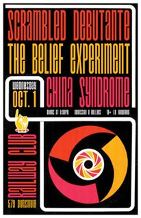 Scrambled Debutante, The Belief Experiment, China Syndrome @ Railway Club Oct 1 2014 - Sep 28th @ Railway Club