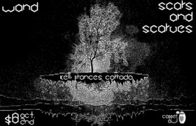 WAND, KELLI FRANCES CORRADO, Scars and Scarves @ Copper Owl Oct 2 2014 - Apr 7th @ Copper Owl