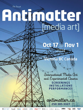 Antimatter [media art] @ Deluge Contemporary Art Oct 17 2014 - Oct 23rd @ Deluge Contemporary Art