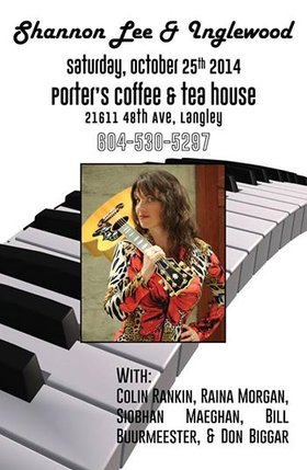 Shannon Lee, Inglewood Band @ Porter's General Store Oct 25 2014 - Apr 8th @ Porter's General Store