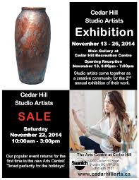 Cedar Hill Studio Artists Holiday Sale @ The Arts Centre at Cedar Hill  Nov 22 2014 - Jul 14th @ The Arts Centre at Cedar Hill