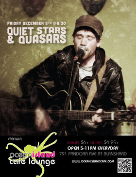Quiet Stars and Quasars @ Ocean Island Lounge Dec 5 2014 - Oct 25th @ Ocean Island Lounge
