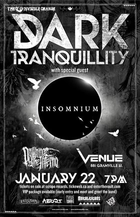 Dark Tranquillity, Insomnium, Dawning of the Inferno @ Venue Jan 22 2015 - Oct 23rd @ Venue