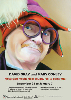 Extraordinary Art: David Gray, Mary Conley @ The Arts Centre at Cedar Hill  Dec 21 2014 - Mar 8th @ The Arts Centre at Cedar Hill