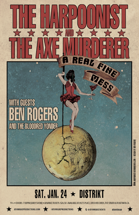 Harpoonist & the Axe Murderer, Ben Rogers @ Distrikt Jan 24 2015 - Jul 5th @ Distrikt