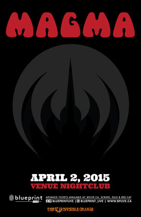 France's legendary MAGMA: MAGMA @ Venue Apr 2 2015 - Mar 24th @ Venue