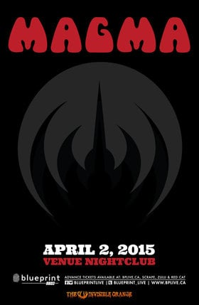 France's legendary MAGMA: MAGMA @ Venue Apr 2 2015 - Aug 14th @ Venue