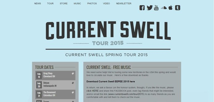 Tour and Contest Page