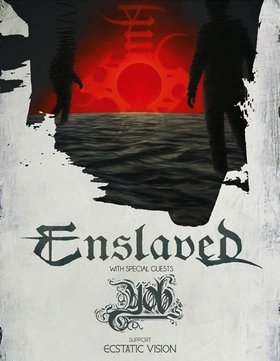 ENSLAVED , YOB, Ecstatic Vision, Anciients @ Rickshaw Theatre Mar 10 2015 - May 22nd @ Rickshaw Theatre