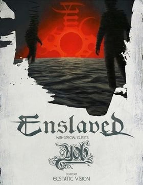 ENSLAVED , YOB, Ecstatic Vision, Anciients @ Rickshaw Theatre Mar 10 2015 - Jun 18th @ Rickshaw Theatre