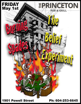 Burning Spades, The Belief Experiment @ Princeton Pub May 1 2015 - Sep 28th @ Princeton Pub