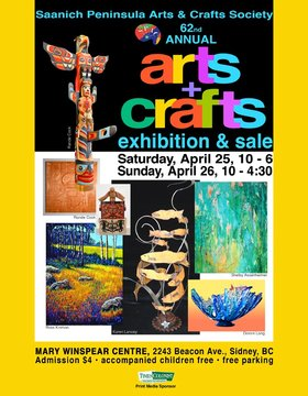 SPAC 62nd Annual Arts & Crafts Exhibition & Sale we guest artist: Rande Cook  @ The Mary Winspear Centre Apr 25 2015 - Apr 19th @ The Mary Winspear Centre