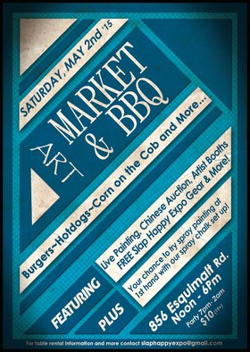 Art Market & BBQ @ The Cambie at the  Esquimalt Inn May 2 2015 - Mar 31st @ The Cambie at the  Esquimalt Inn