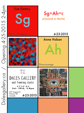 Colour is Truth: Sue Gentry, Anne Hoban @ Fortune Gallery Apr 24 2015 - Jul 8th @ Fortune Gallery