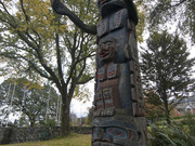 Kwakiutl Totem Pole by  James Dick