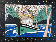 James Bay Four Corners Mosaics by  Sandra Millott
