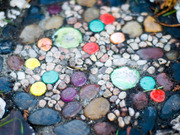 Community Stepping Stones by Four artists and volunteers