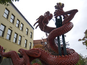 Red Dragon by  Ping Tsing, Bev Windjack, LARD Landscape Architects Inc.