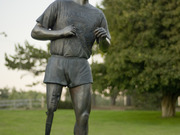 Terry Fox Memorial by  Nathan Scott