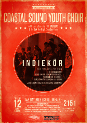 Indiekor w Special Guests:: The Salteens, Oak Bay High Chamber Choir @ Oak Bay High Theatre Jun 12 2015 - Jan 25th @ Oak Bay High Theatre