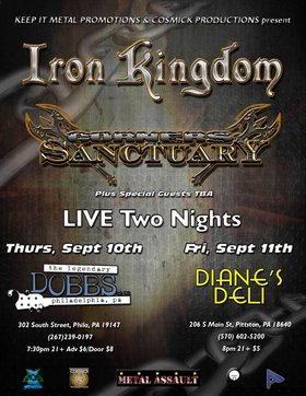 Iron Kingdom, Corners of Sanctuary @ Diane's Deli Sep 11 2015 - Jun 2nd @ Diane's Deli