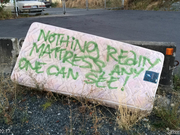Nothing Really Mattress by Unknown