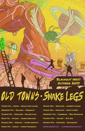 Blackout West: Old Towns (AB), SNAKE LEGS (AB) @ The Cambie at the  Esquimalt Inn Oct 9 2015 - Mar 31st @ The Cambie at the  Esquimalt Inn