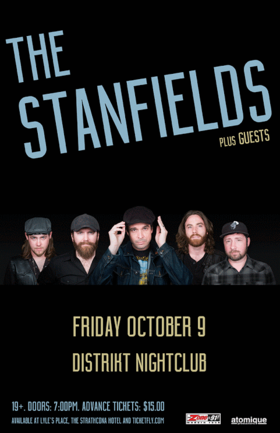 The Stanfields, Aegis Fang @ Distrikt Oct 9 2015 - Jul 11th @ Distrikt