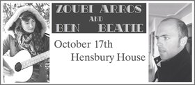Ben Beatie, Zoubi Arros @ Hensbury House Oct 17 2015 - Aug 6th @ Hensbury House