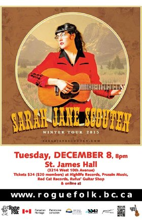Sarah Jane Scouten  @ St. James Community Hall Dec 8 2015 - May 26th @ St. James Community Hall