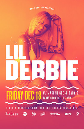 Lil Debbie , JACLYN GEE, Baby c @ Fortune Sound Club Dec 18 2015 - Mar 29th @ Fortune Sound Club