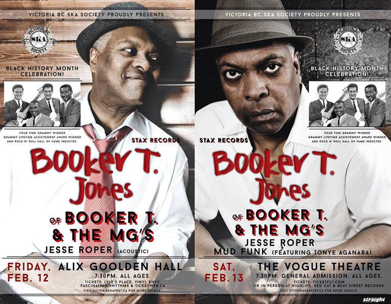 Opening for Booker T. Jones!