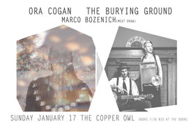 Marco  Bozenich, Ora Cogan, The Burying Ground @ Copper Owl Jan 17 2016 - May 28th @ Copper Owl