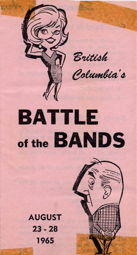 BC Battle of the Bands: The Regents @ Armstrong Teen Town Aug 23 1965 - Oct 22nd @ Armstrong Teen Town