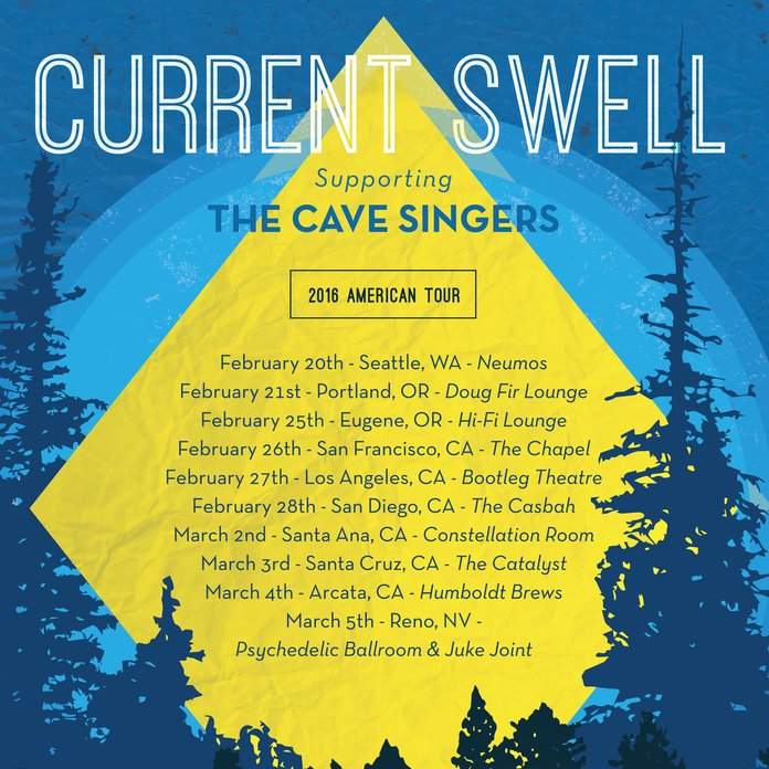 Winter Tour with Cave Singers