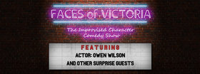 Faces of Victoria - The Improvised Character Comedy Show @ The Solstice Cafe & Lounge Mar 4 2016 - Oct 16th @ The Solstice Cafe & Lounge