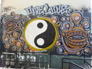 One Love Mural by Unknown