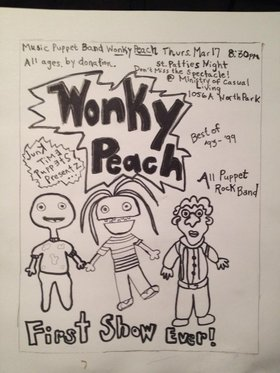 Wonky Peach: First Show Ever! - Oct 17th @ ministry of casual living 1056a north park