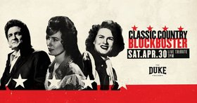 The Duke Saloon presents Classic Country Blockbuster with...: Patsy Cline Tribute Band , Loretta Lynn Tribute Band, Johnny Cash Tribute Band @ The Duke Saloon Apr 30 2016 - Mar 31st @ The Duke Saloon