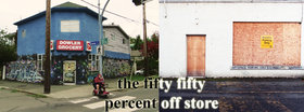the fifty fifty percent off store: Katie Sage, Adam Cantor - Sep 25th @ the fifty fifty arts collective