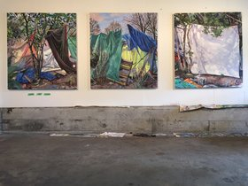Jeremy Herndl : Sticks and Cloth - Oct 17th @ Odeon Alley Window