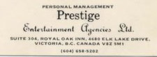 Prestige Entertainment Agencies Ltd.
