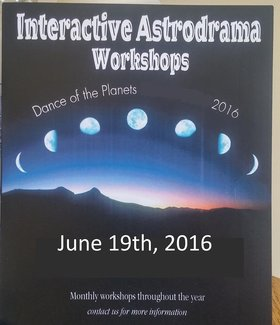 Interactive Astrodrama Workshop - Oct 17th @ the ministry of casual living 1056A North Park