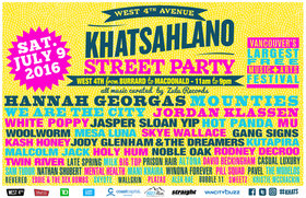 West 4th Avenue Khatsahlano Street Party: Pill Squad @ West 4th Avenue Jul 9 2016 - May 31st @ West 4th Avenue
