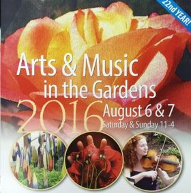 Art & Music in the Garden: R&R,   Rowan Forest  ,  Accordion Duo, Brad Prevedoros,   Key of C , Victoria Accordion Club   @ HCP Gardens Art & Music Aug 6 2016 - Jan 20th @ HCP Gardens Art & Music