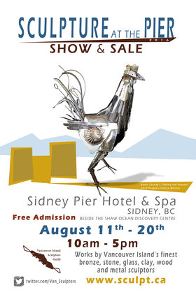 Sculpture at the Pier Show and Sale @ Sidney Pier Hotel and Spa Aug 11 2016 - Jun 3rd @ Sidney Pier Hotel and Spa